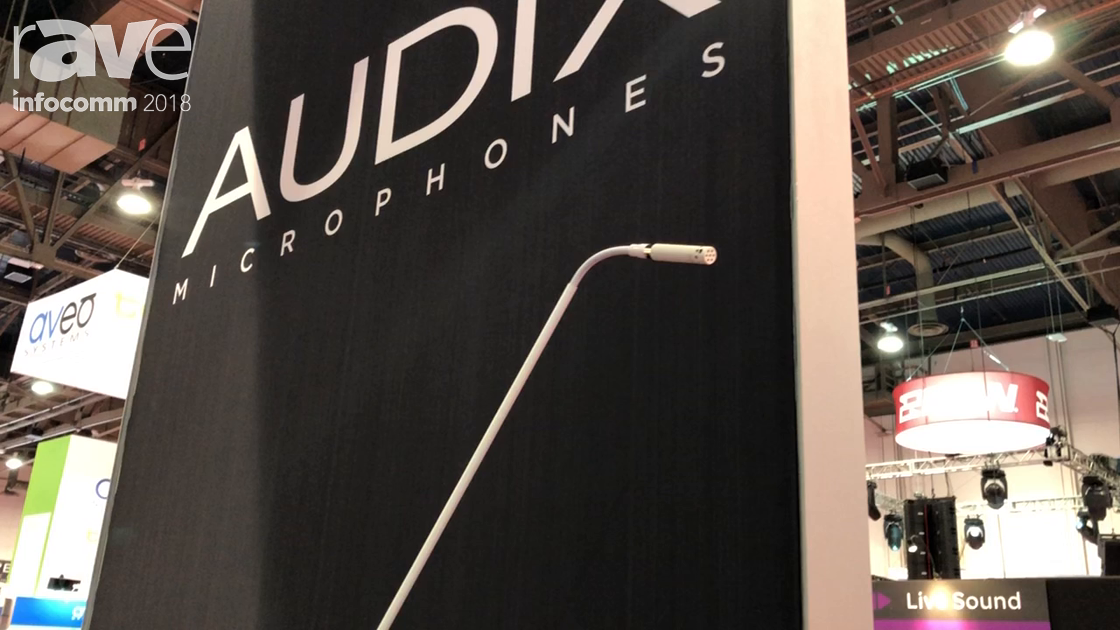 InfoComm 2018: Audix Features the Micro Booms, Now Availabile in White