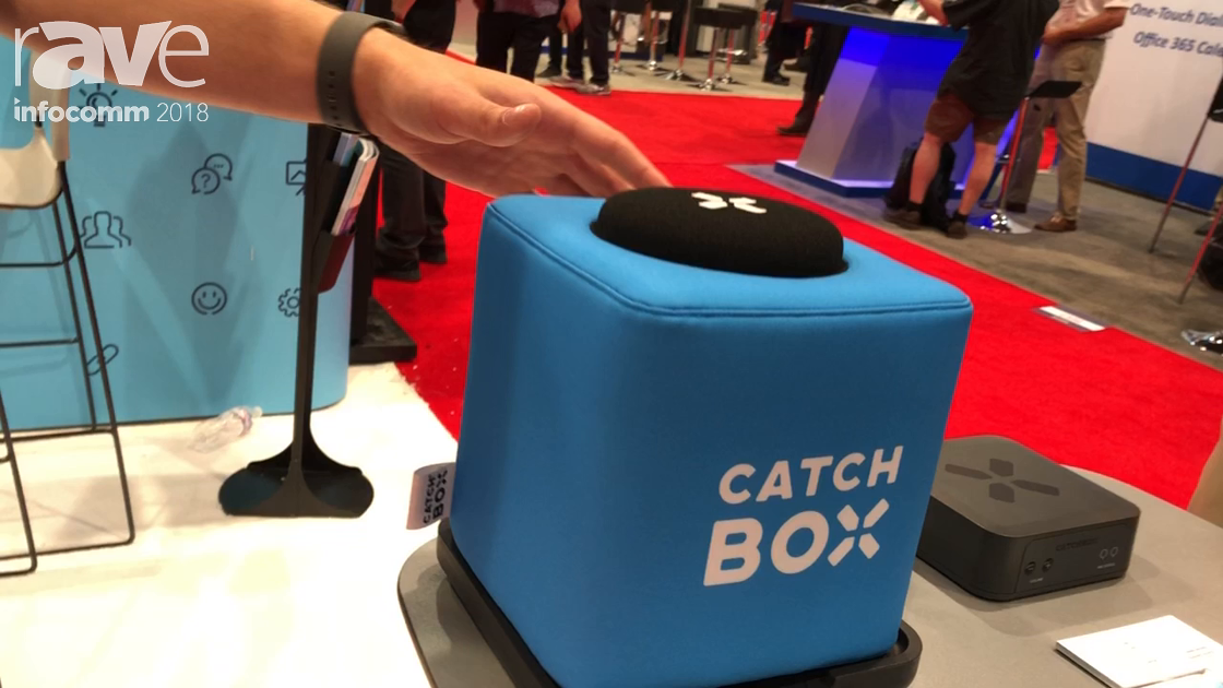 InfoComm 2018: Catchbox Intros Catchbox Plus Throwable Wireless Microphone With Wireless Charging