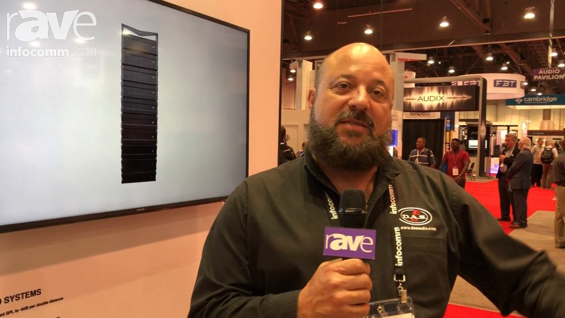 InfoComm 2018: D.A.S. Audio Showcases the DASaim Digital Steering Technology