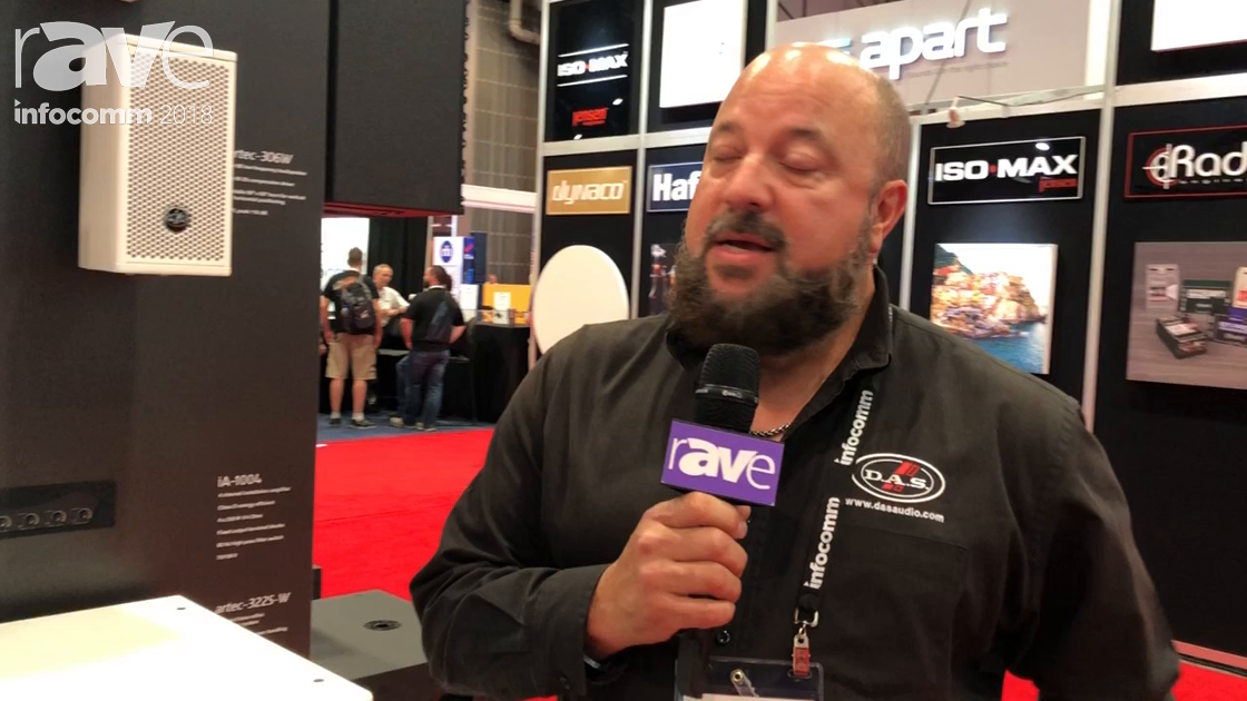 InfoComm 2018: D.A.S. Audio Shows the Artec 300 Series of Speakers