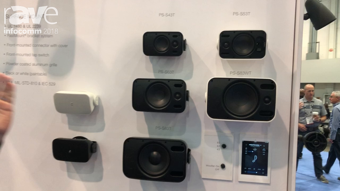 InfoComm 2018: Dana Innovations Features the Sonance ProSeries of 70-Volt Commercial Speakers