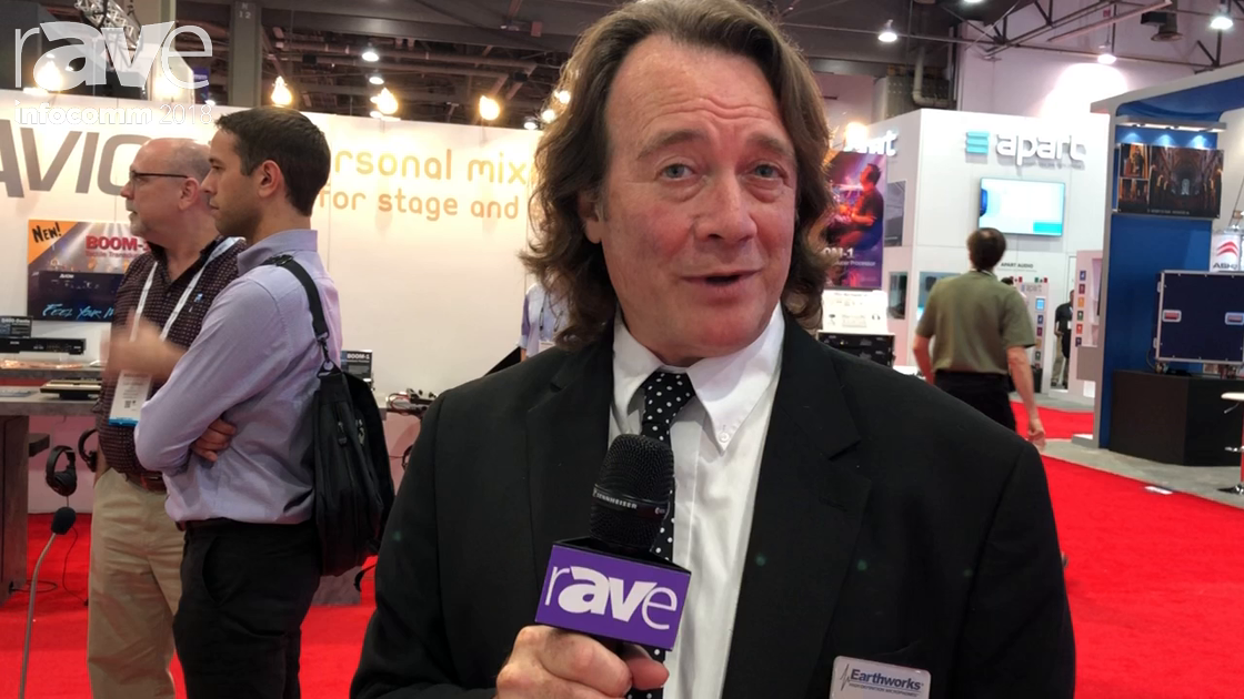 InfoComm 2018: Earthworks Audio Receals IMB-DR Directional, Low-Profile, In-Table Boundary Mic