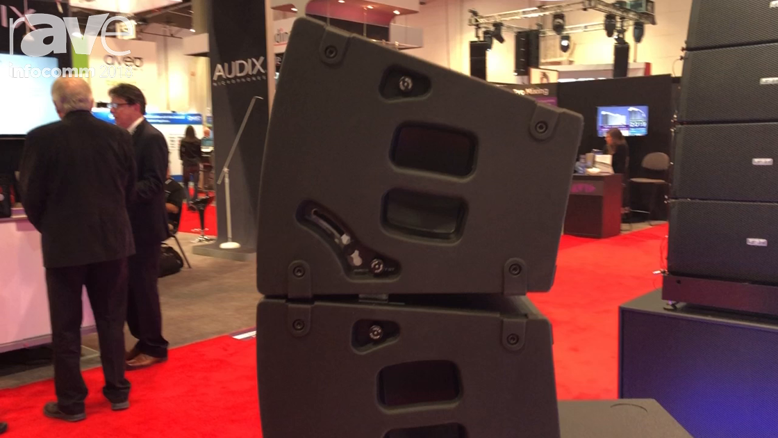 InfoComm 2018: FBT Introduces Horizon VHA Line Array That Can Be Mounted Horizontally or Vertically