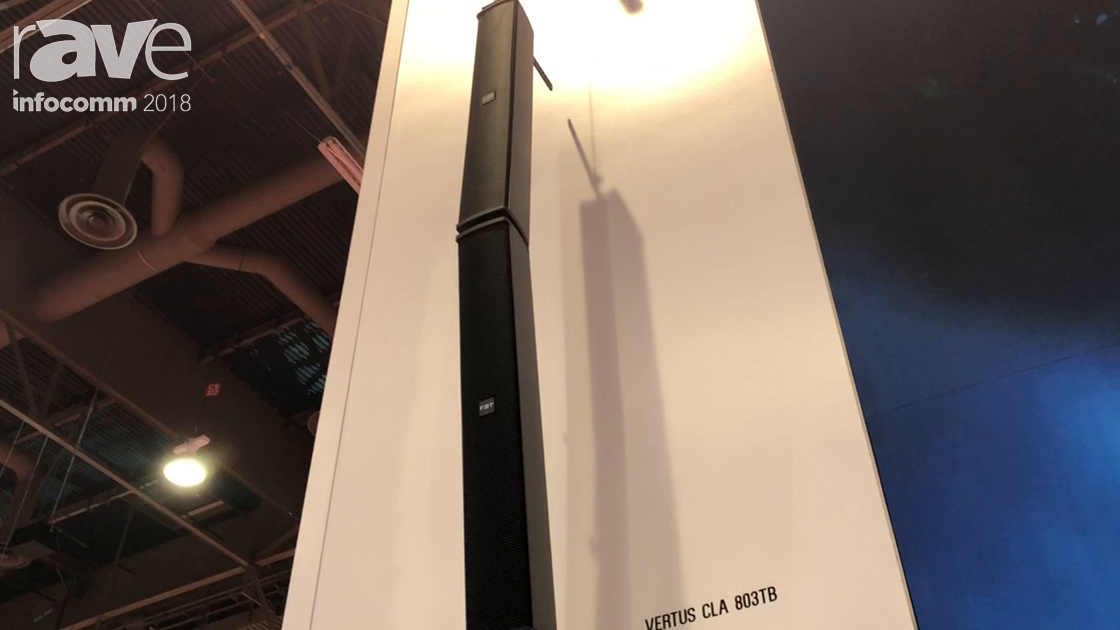 InfoComm 2018: FBT Intros the Vertus CLA 803TB and 403TB Outdoor, Weatherproof, Passive Line Array
