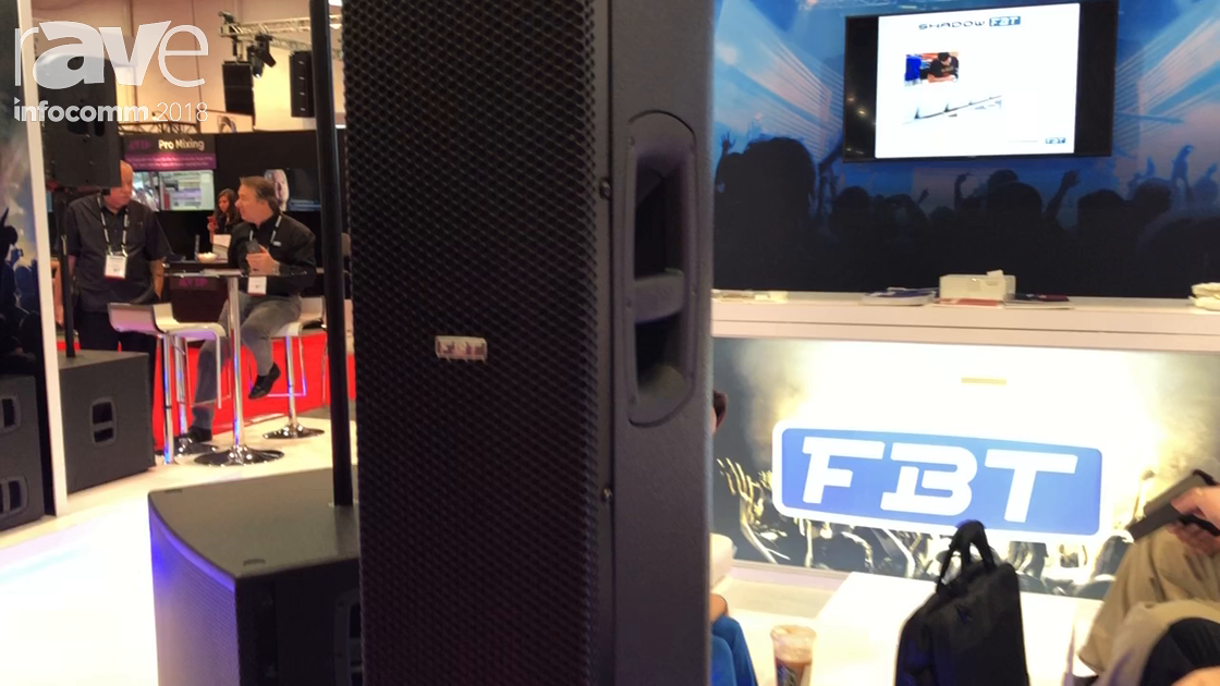InfoComm 2018: FBT Shows Off the Vertus CLA 406 Flyable Line Array