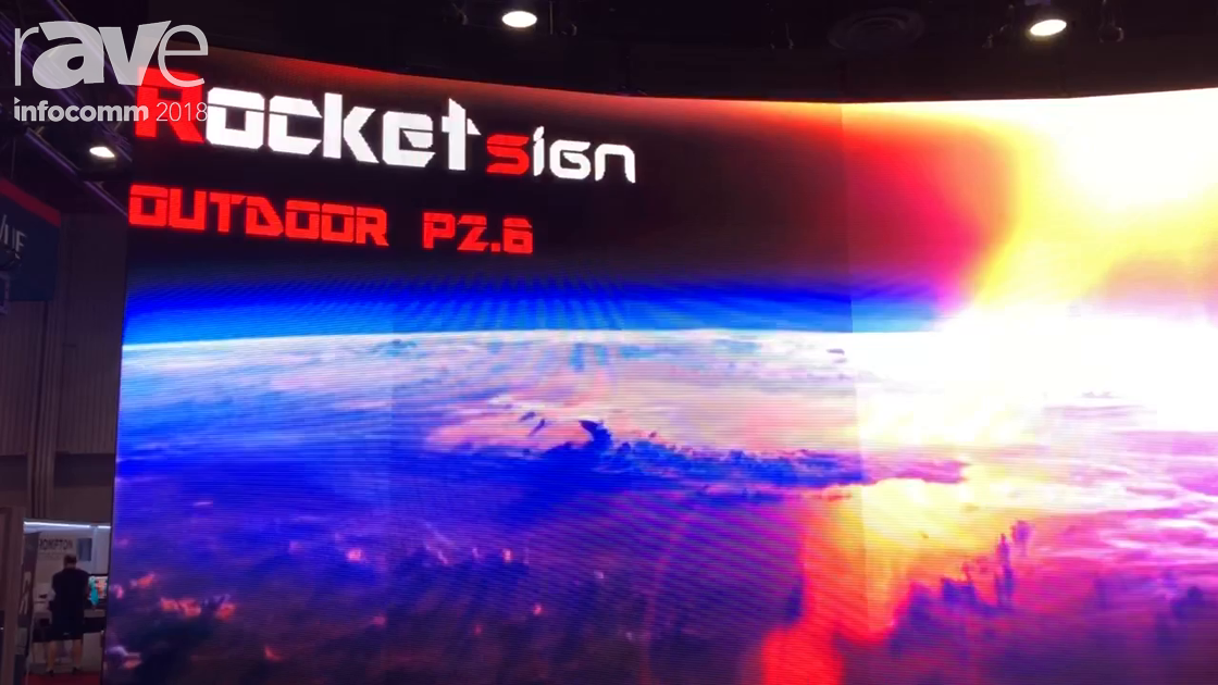 InfoComm 2018: Rocketsign Explains P2.6 LED Display for Rental and Staging Events