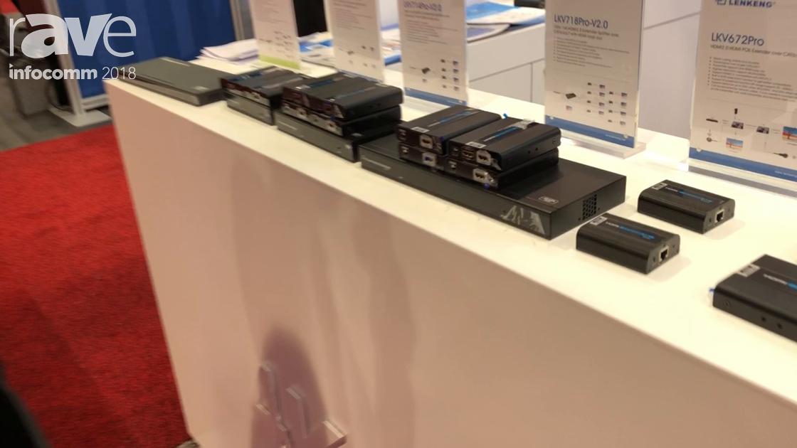 InfoComm 2018: Shenzhen Lenkeng Technology Presents LKV714Pro-V2.0 Extender