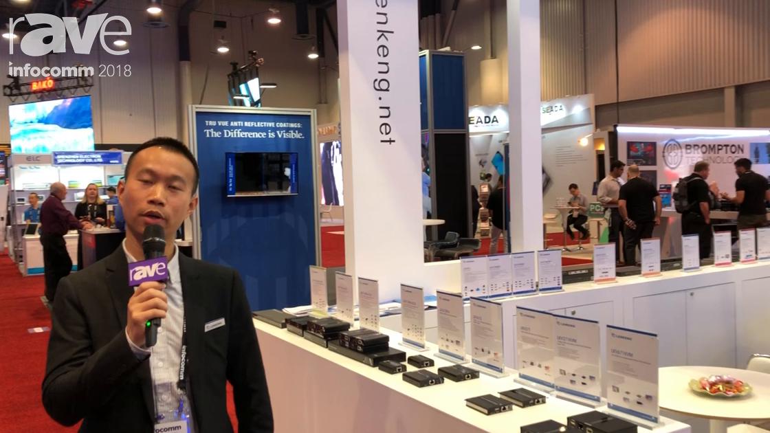InfoComm 2018: Shenzhen Lenkeng Technology Shows Off LKV371 HDMI Extender