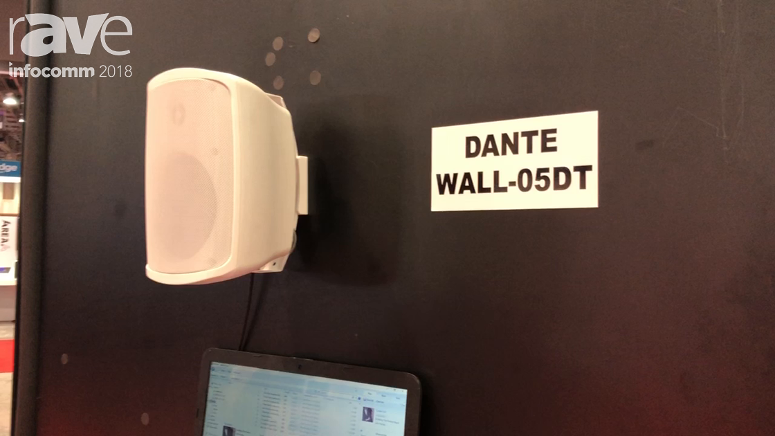 InfoComm 2018: OWI Features Its Dante Wall-05DT Surface Mount Speaker