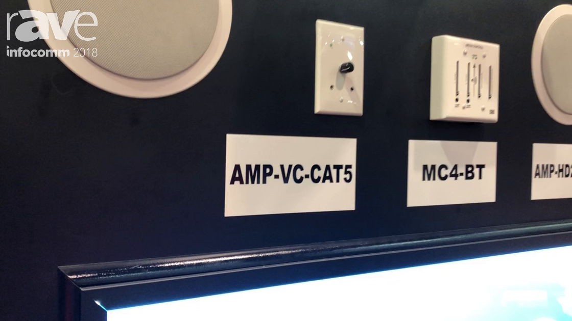 InfoComm 2018: OWI Introduces the AMP-VC-CAT5 Amplified Volume Control With Bluetooth