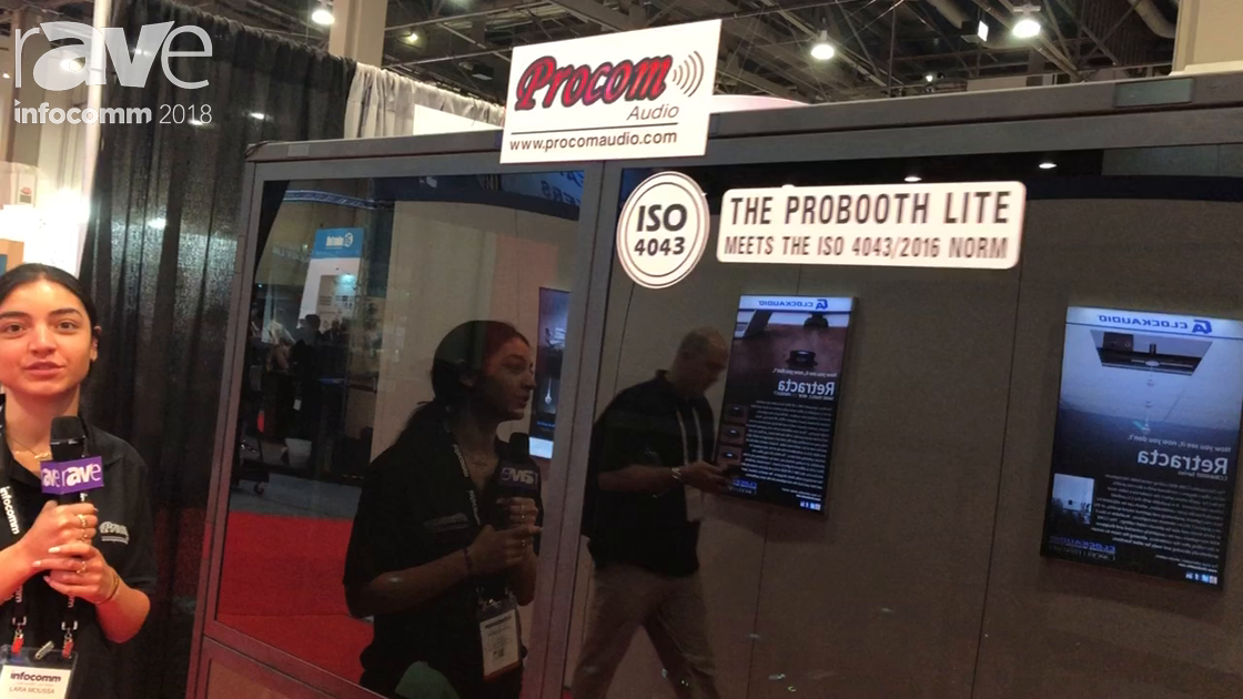 InfoComm 2018: Procom Audio Features the Probooth Lite Translation Booth