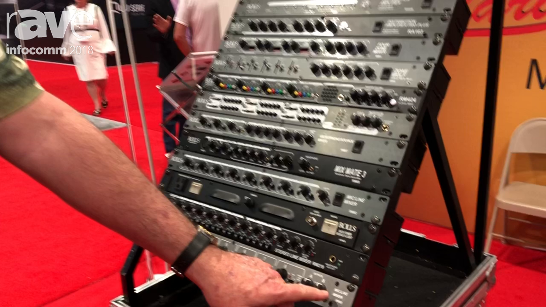 InfoComm 2018: Rolls Corporation Shows the RM85 Mic Line Mixer
