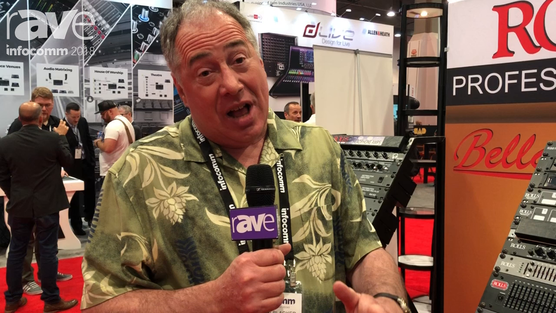 InfoComm 2018: Rolls Corporation Talks About the Rolls HRD342 Room Delay