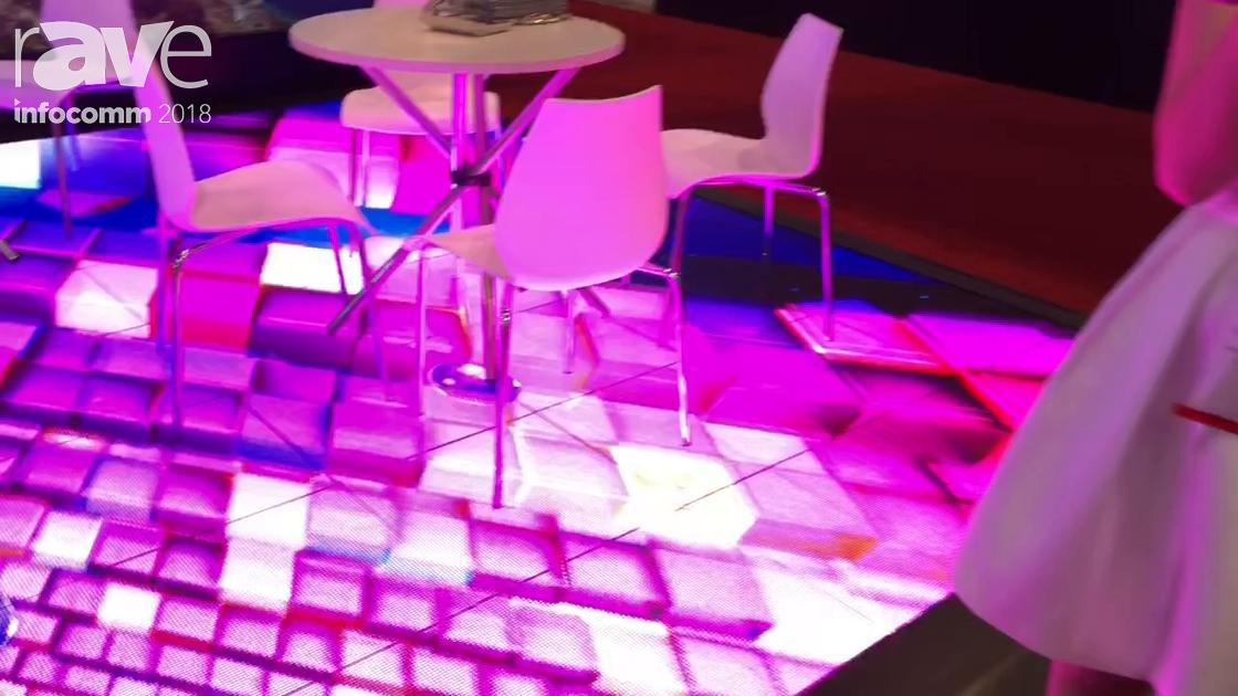 InfoComm 2018: VTEAM Interactive LED Video Floor