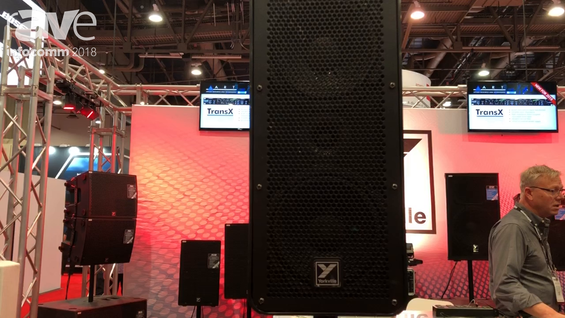 InfoComm 2018: Yorkville Sound Features the EXM Mobile Compact Portable Amplifier Speaker