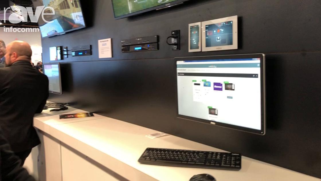 InfoComm 2018: Atlona Demos the Velocity Control Platform