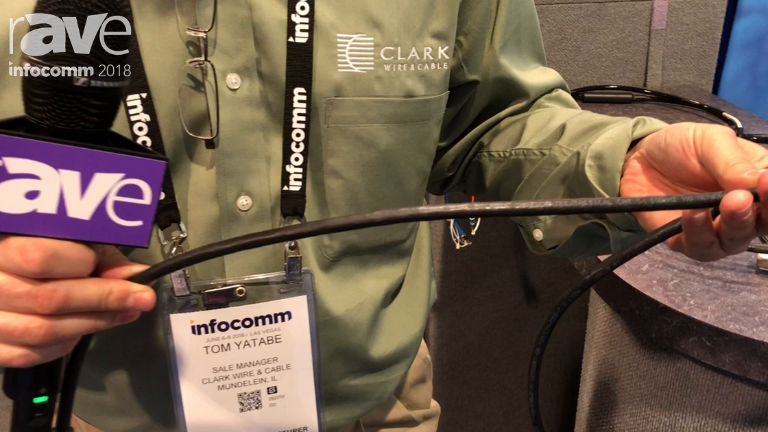 InfoComm 2018: ClarkWire Intros the Tactical Cat6A Shielded Cable
