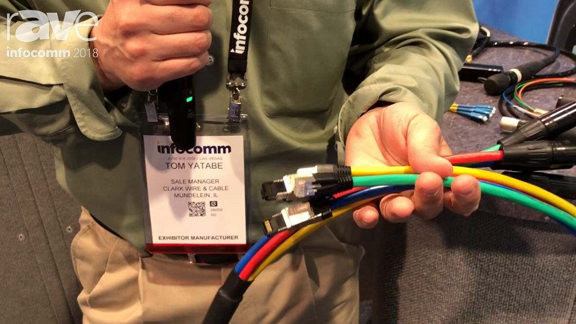 InfoComm 2018: ClarkWire Showcases Its Four-Channel Tactical Cat6 Shielded Snake Cable