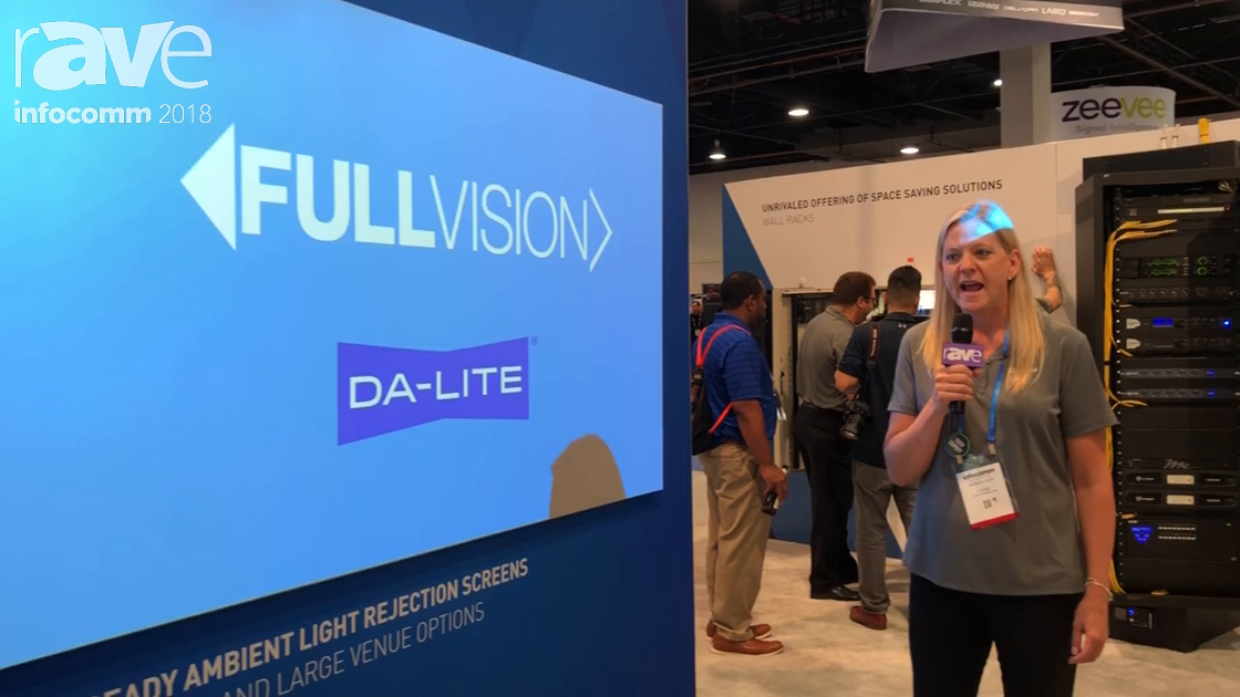 InfoComm 2018: Da-Lite Intros Fullvision HD Progressive Projection Screen