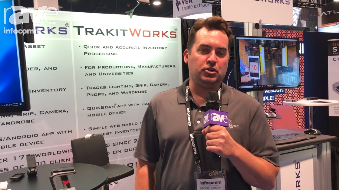 InfoComm 2018: Database Works Demos TrakIt Works Inventory Management Software for Universities