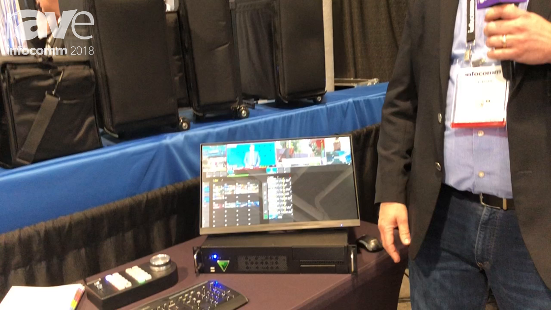 InfoComm 2018: FOR-A Corporation Demos the ENVIVO Replay for Live Broadcast Production
