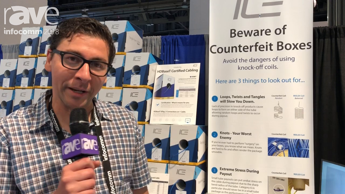 InfoComm 2018: ICE Cable Highlights Its High Quality Prewire Products
