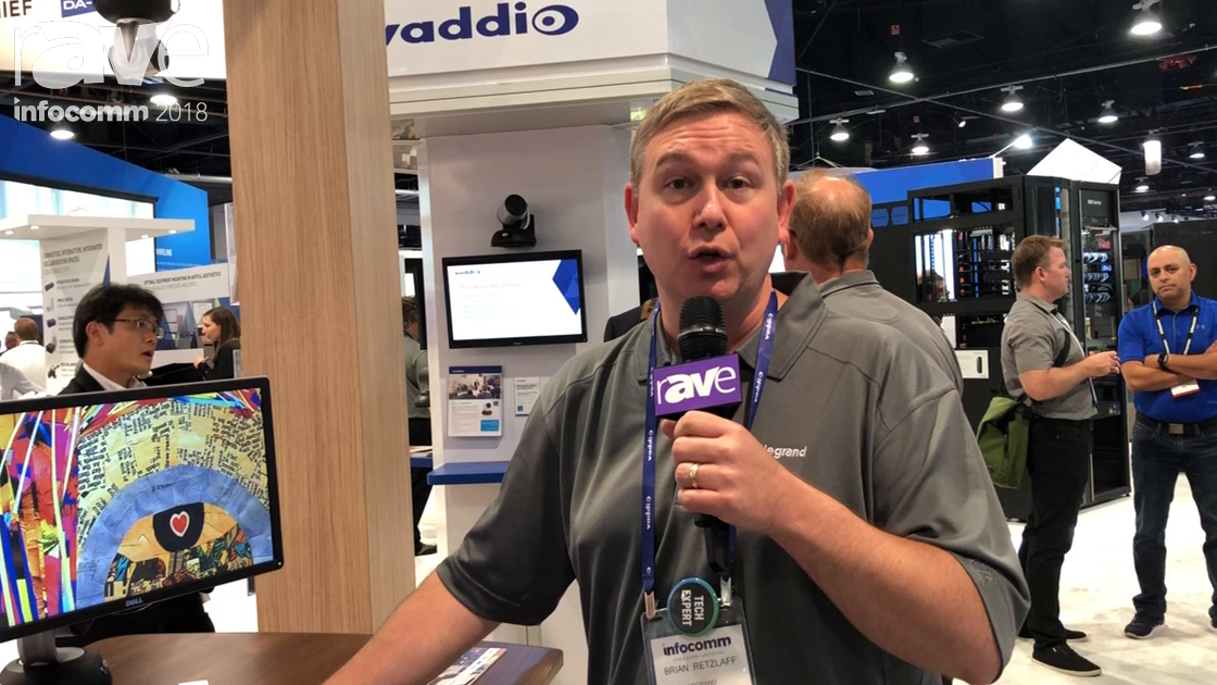 InfoComm 2018: Legrand Features the Vaddio RoboSHOT 40 UHD PTZ Silent, Smooth Camera