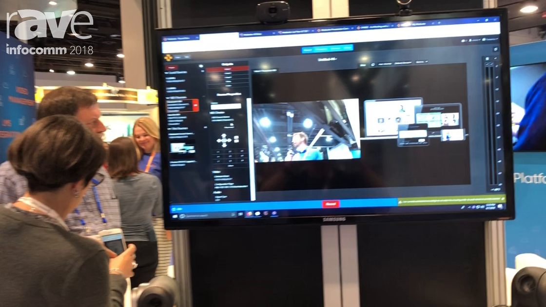 InfoComm 2018: Mediasite Demos NDI Camera Support in Mediasite
