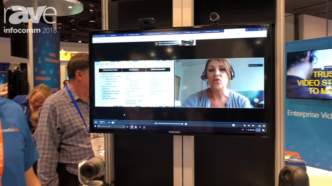 InfoComm 2018: Mediasite Shows Off Mediasite Join Videoconferencing Recording