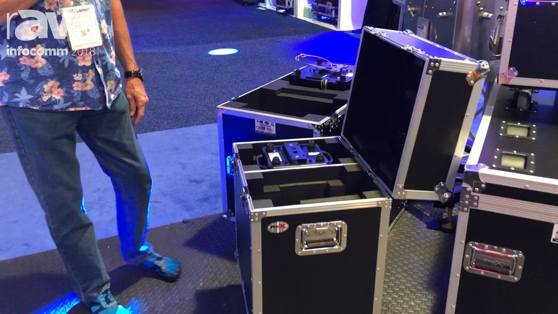 InfoComm 2018: ProX Live Performance Gear Features Its Moving Head Cases