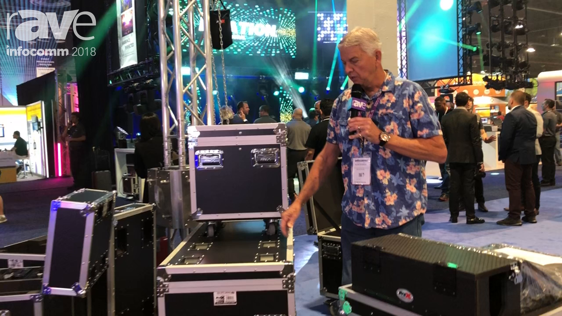 InfoComm 2018: ProX Live Performance Gear Highlights Its Utility Trunks