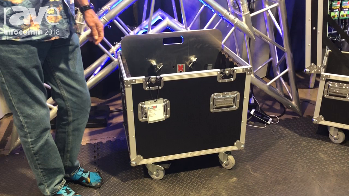 InfoComm 2018: ProX Live Performance Gear Shows Truss Base Plate Cases
