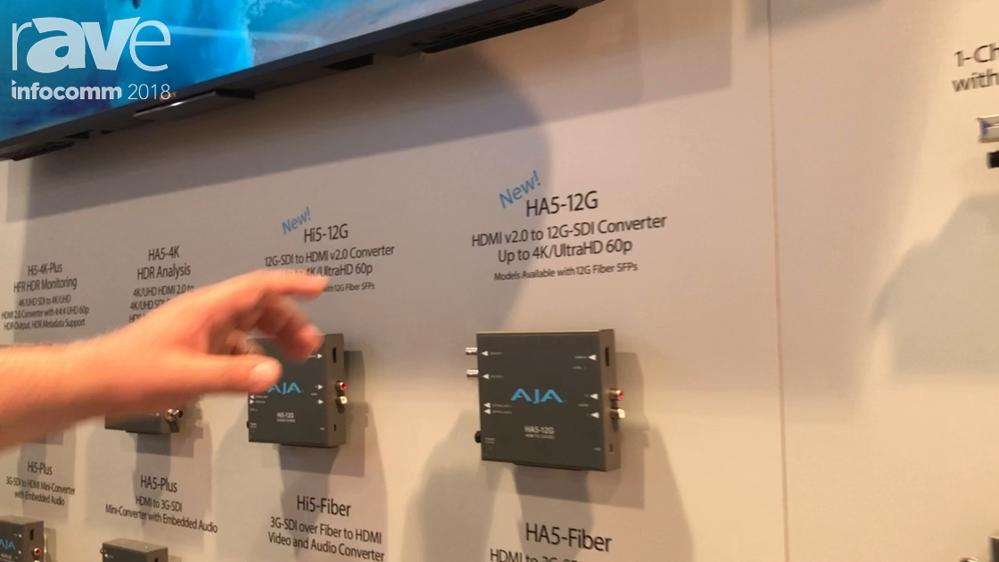 InfoComm 2018: AJA Video Systems Debuts HA5-12G HDMI to 12G-SDI Video Converter