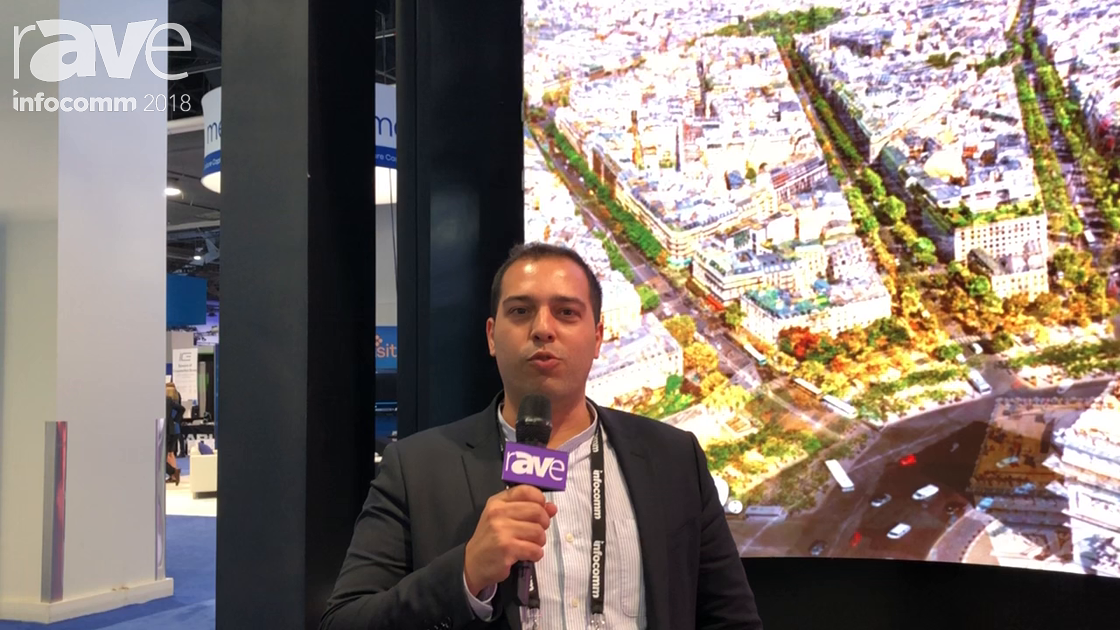 InfoComm 2018: AOTO GTEK Discusses InnoPad 2.9mm Curved LED Display for Indoor Use