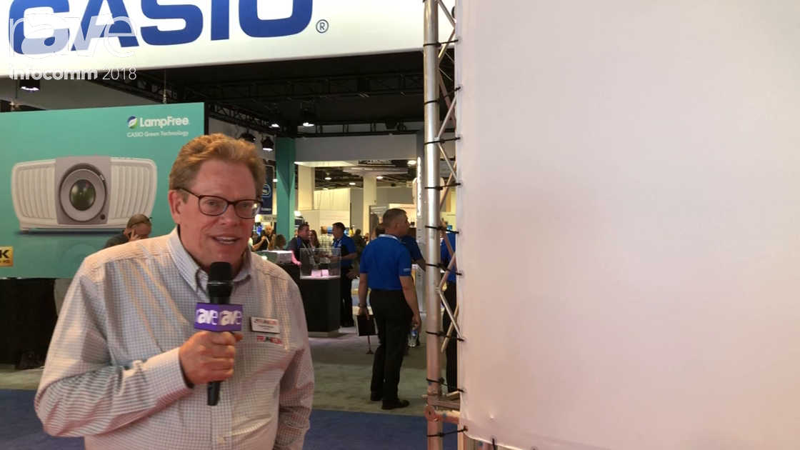 InfoComm 2018: AV Franklin Presents Custom Lace and Grommet Surfaces Solutions
