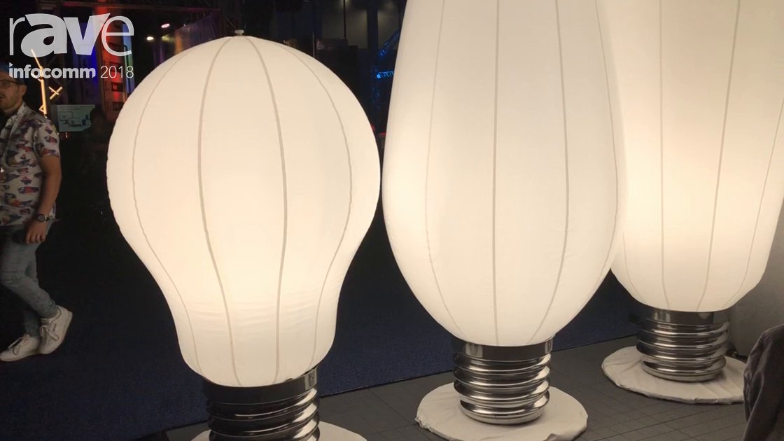 InfoComm 2018: Airstar America Highlights Physically Large Lightbulb Collection for Event Lighting