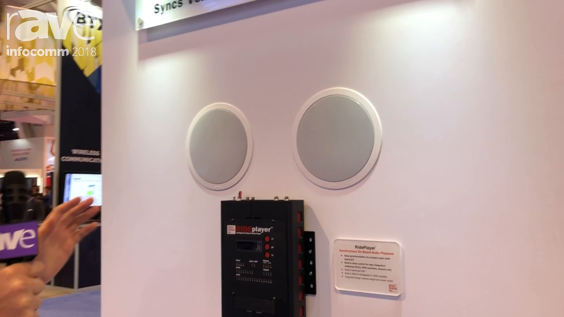 InfoComm 2018: Alcorn McBride A/V Features RidePlayer for On-Board Audio Playback