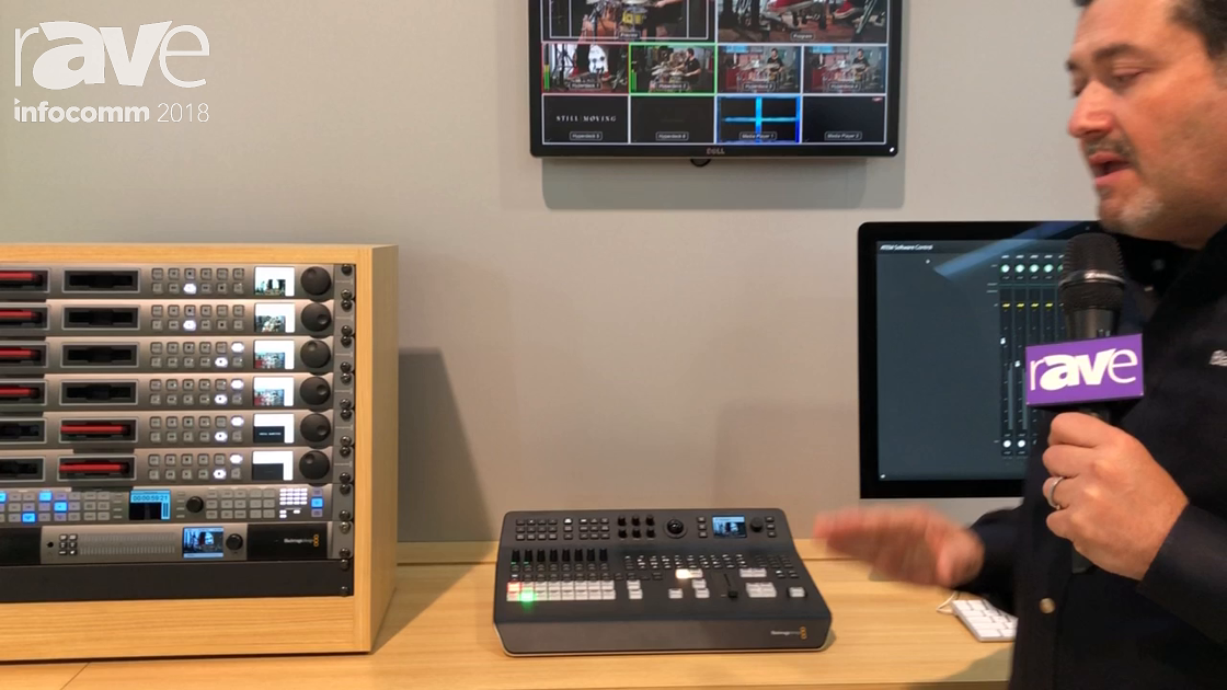 InfoComm 2018: Blackmagic Design Discusses ATEM Television Studio Pro 4K Switcher