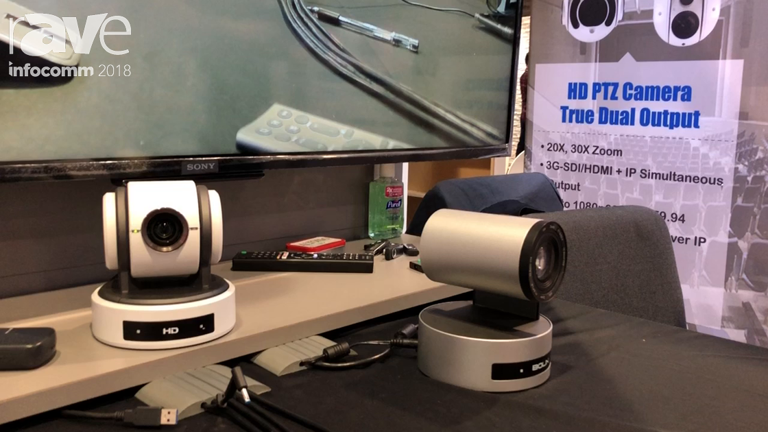 InfoComm 2018: Bolin Technology Highlights USB 3 Series and 2 Series PTZ Cameras