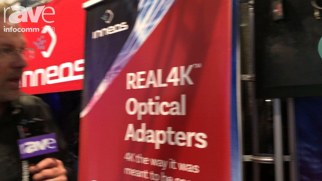 InfoComm 2018: Inneos Talks About REAL4K Optical Adapters for HDMI 2.0