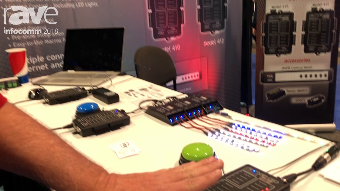 InfoComm 2018: Integ Debuts JNIOR 412 Automation Controller with DMX Functionality