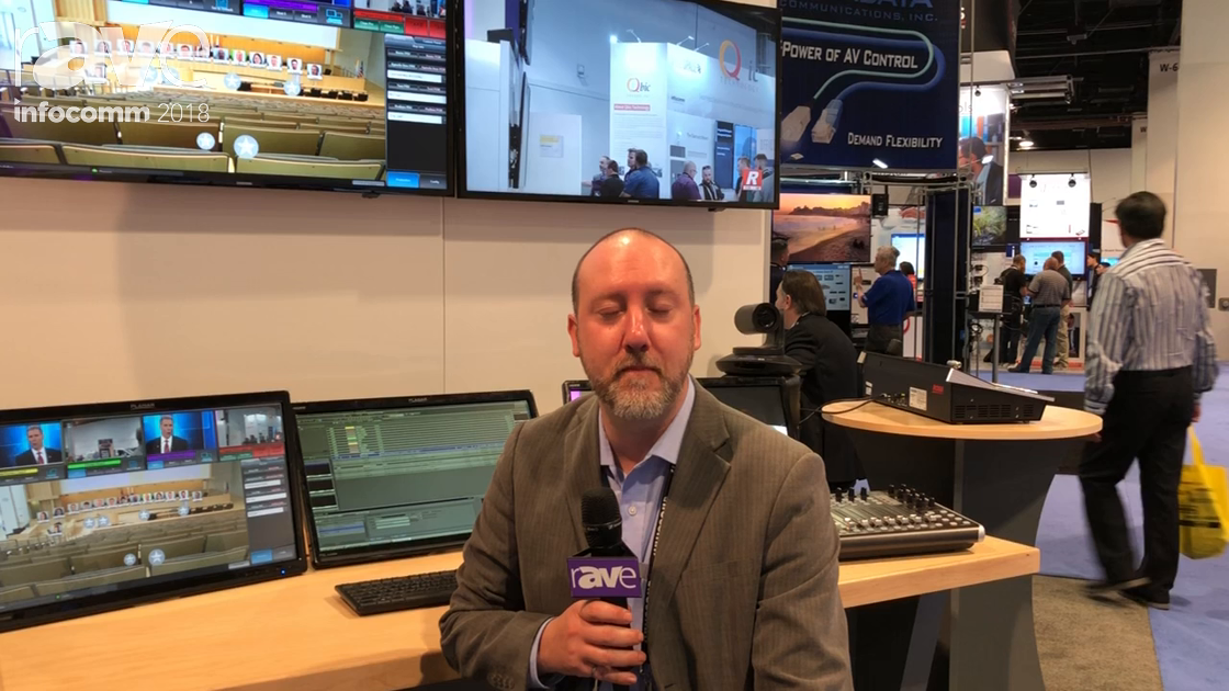 InfoComm 2018: Ross Video Limited Discusses All-In-One Production & Lightning Control System