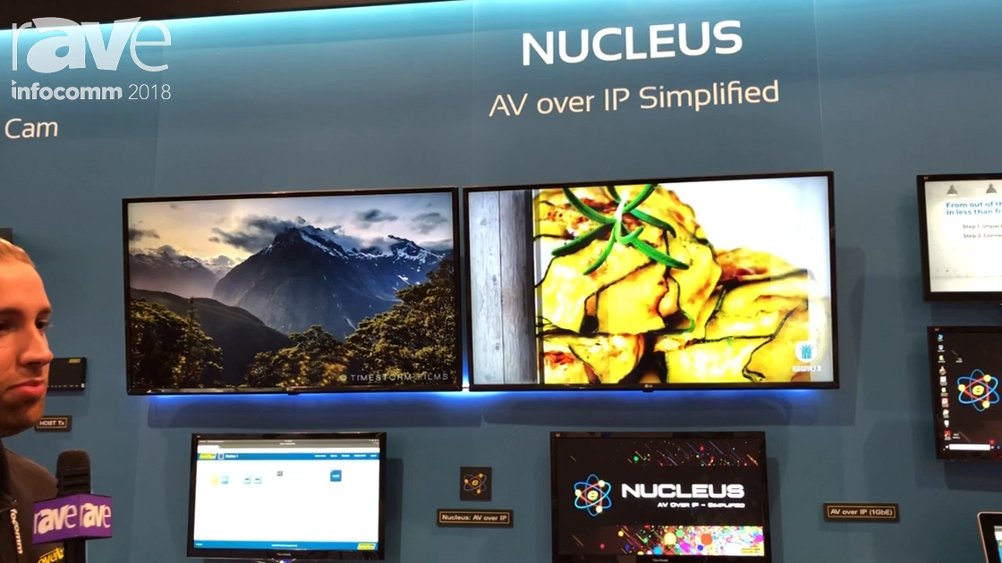 InfoComm 2018: Evertz AV Showcases Nucleus Compressed Network Video-Based System