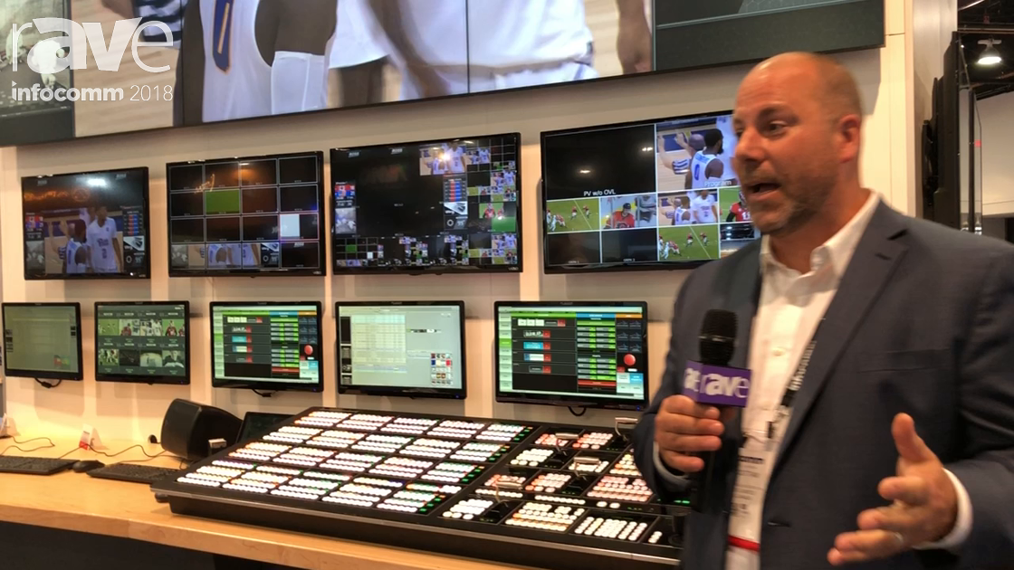 InfoComm 2018: Ross Video Limited Presents Unified Sports Venue and Live Event Solution