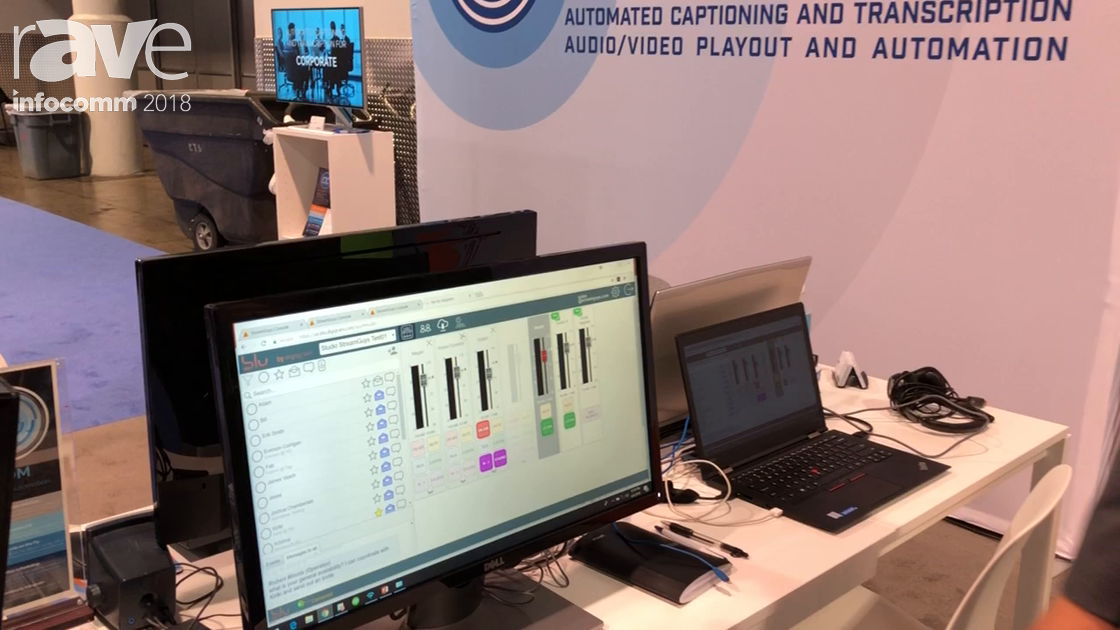 InfoComm 2018: StreamGuys Debuts blu Software for Cloud-Based Remote Management of Audio Switching