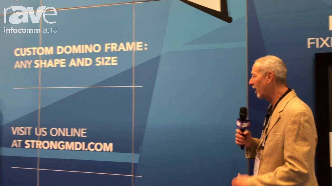InfoComm 2018: StrongMDI Features Domino Trussing System