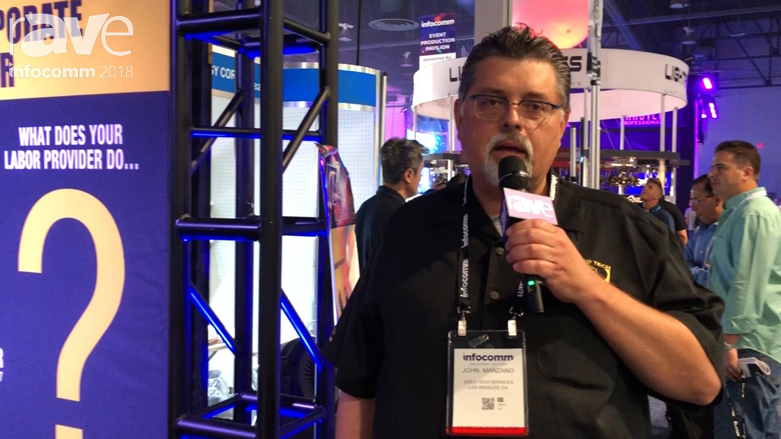 InfoComm 2018: Video Tech Services Talks About Crew Providing Services for Live Events