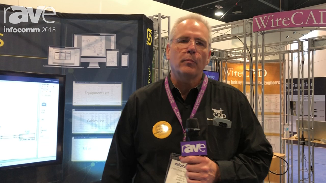 InfoComm 2018: WireCAD Debuts Simple Wires Cloud-Based Systems Design Software