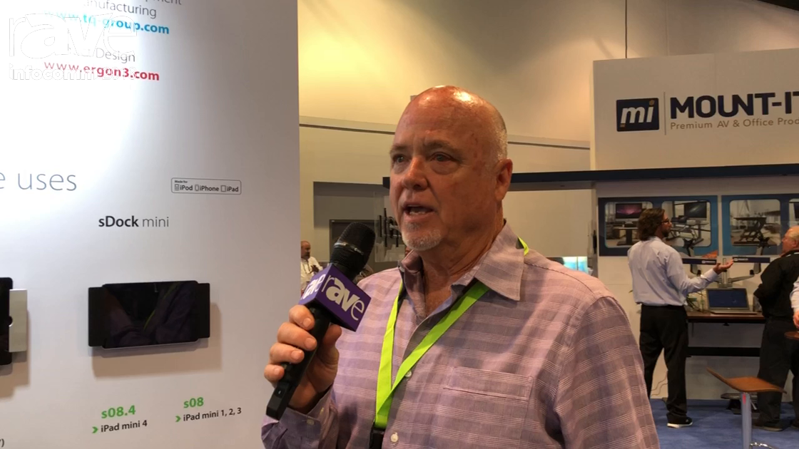 InfoComm 2018: smart-things Previews sDock Tablet Mounting System