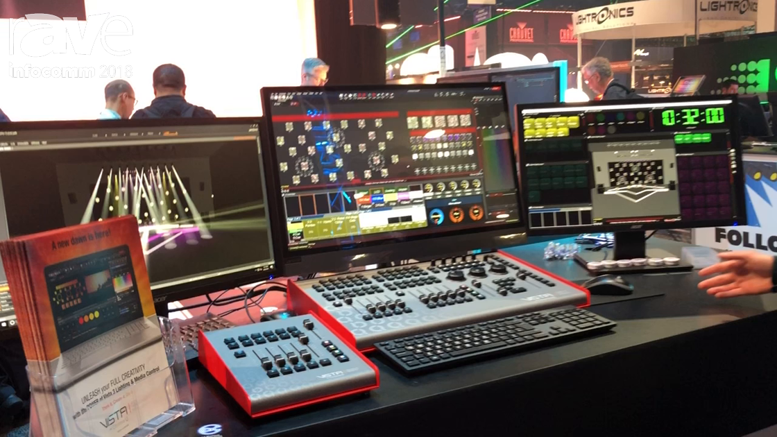 InfoComm 2018: A.C. Lighting Promotes Vista Lighting Control Hardware and Software by Chroma-Q